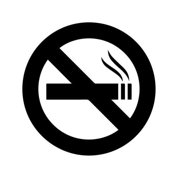 No smoking rooms